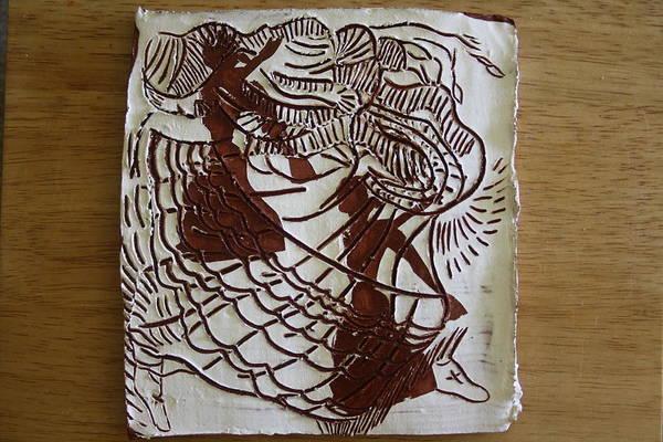 Ceramic Art - Flamenco Passion 1 by Gloria Ssali