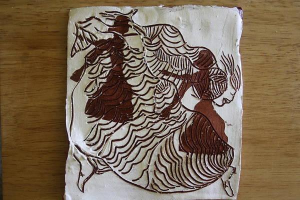 Ceramic Art - Flamenco Passion 2 by Gloria Ssali