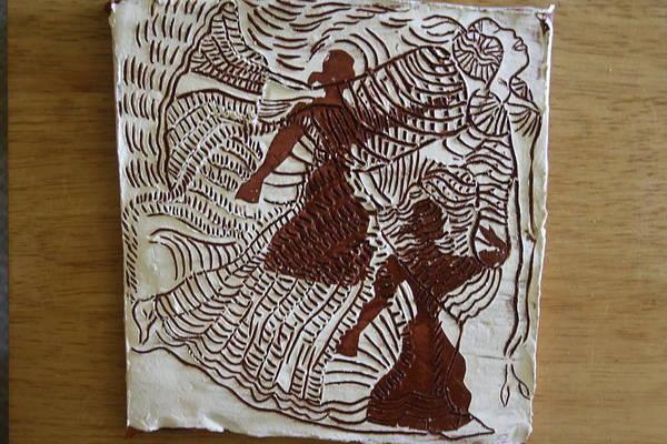 Ceramic Art - Flamenco Passion 3 by Gloria Ssali