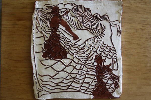 Ceramic Art - Flamenco Passion 4 by Gloria Ssali