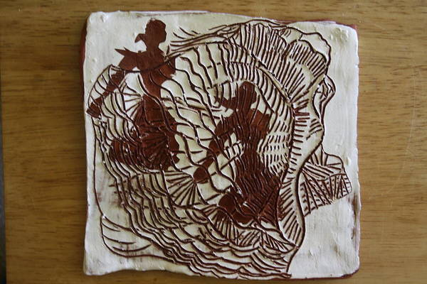 Ceramic Art - Flamenco Passion 5 by Gloria Ssali