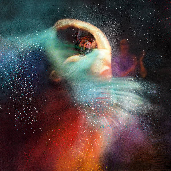 Painting - Flamencoscape 02 by Miki De Goodaboom