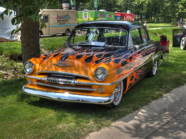 Photograph - Flames In The Shade by Michael Colgate