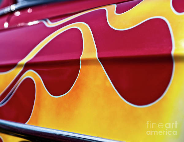 Wall Art - Photograph - Flames by Mark Miller