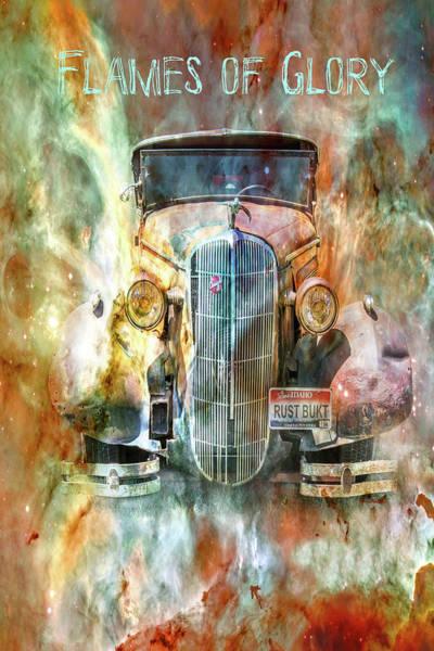 Digital Art - Flames Of Glory by Ramona Murdock