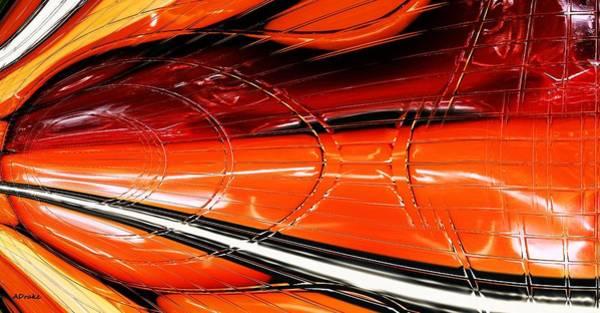 Digital Art - Flamethrower by Alec Drake