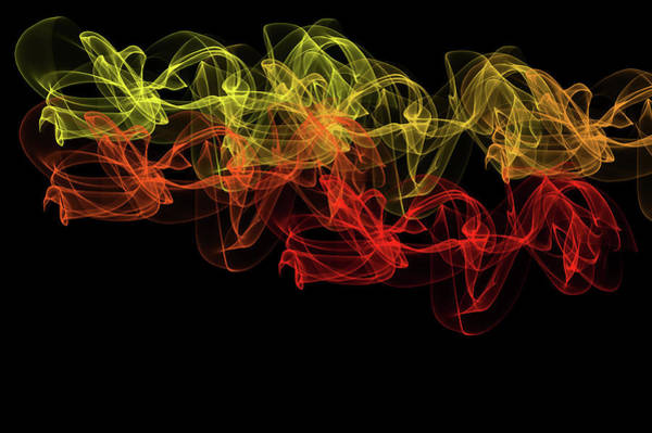 Digital Art - Flaming Dance  by Jenny Rainbow