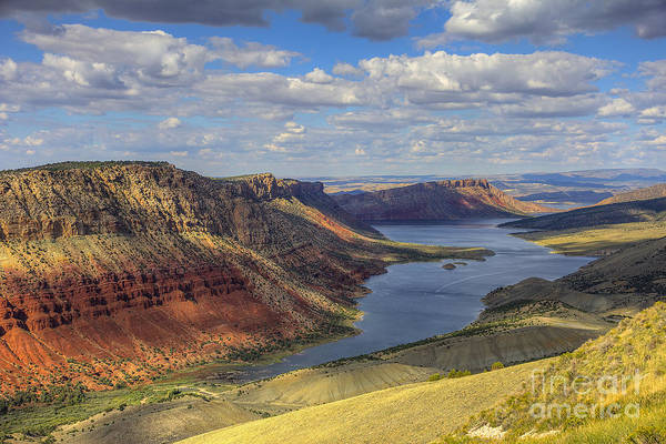 Photograph - Flaming Gorge by Spencer Baugh