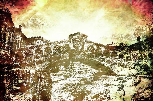 Lagoon Digital Art - Flaming Rialto by Andrea Barbieri