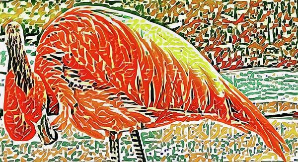 Photograph - Flamingo Arch by Alice Gipson