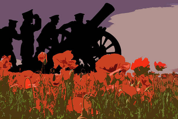 Remembrance Photograph - Flanders Fields 2 by Smart Aviation
