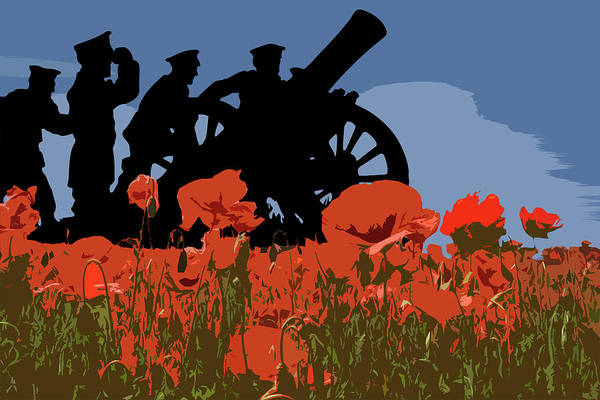 Remembrance Photograph - Flanders Fields 4 by Smart Aviation
