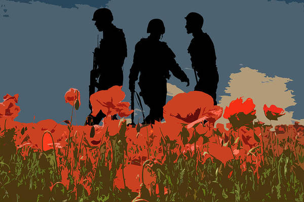 Remembrance Photograph - Flanders Fields 5 by Smart Aviation