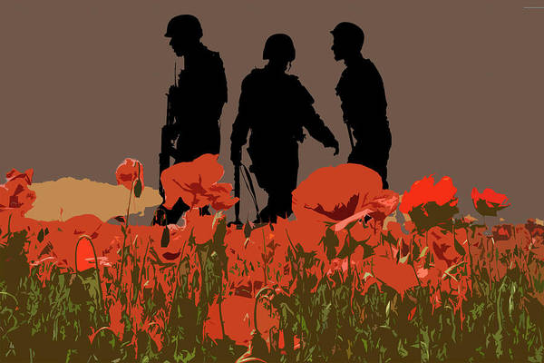 Remembrance Photograph - Flanders Fields 7 by Smart Aviation