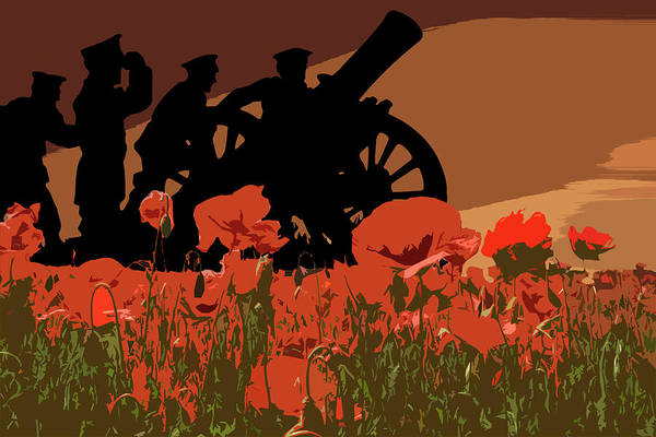 Remembrance Photograph - Flanders Fields 1 by Smart Aviation