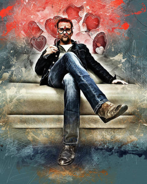 Digital Art - Flanery Valentine by Flanery Art Designs