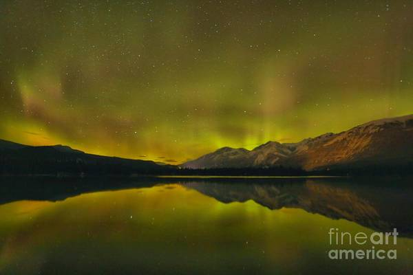 Photograph - Flaring Northern Lights by Adam Jewell