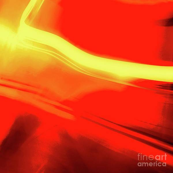 Photograph - Flash Abstract 561 S by D Davila