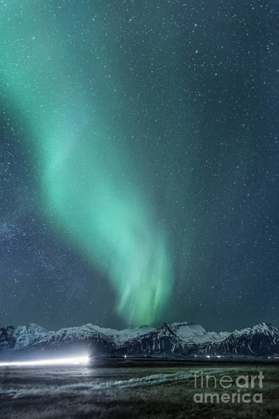 Northern Photograph - Flash In The Night by Evelina Kremsdorf