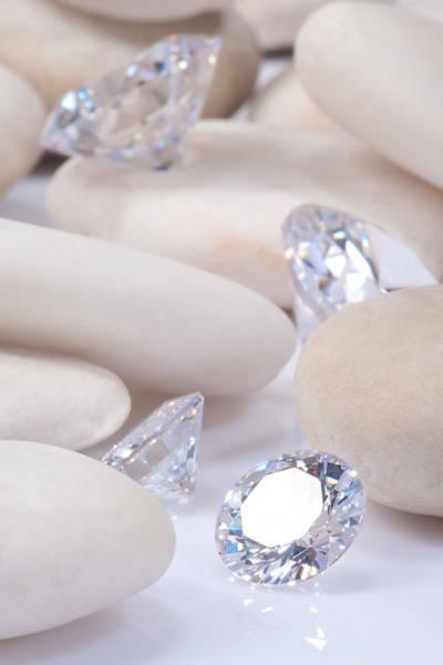 Allure Wall Art - Jewelry - Flashing Diamond by Atiketta Sangasaeng