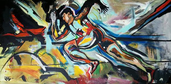 Painting - Flat Run by John Jr Gholson