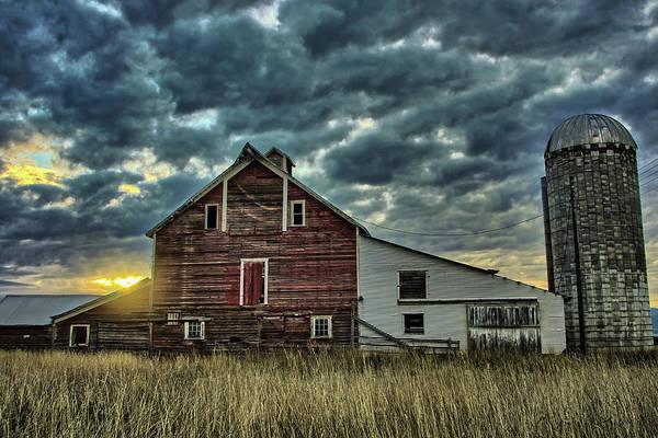 Photograph - Flathead Barn by Jedediah Hohf