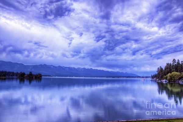 City Scape Photograph - Flathead Blues by Scotts Scapes