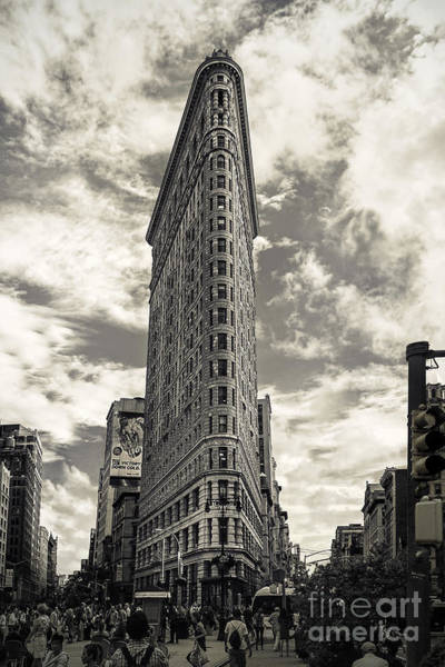 Wall Art - Photograph - Flatiron by Andrew Paranavitana