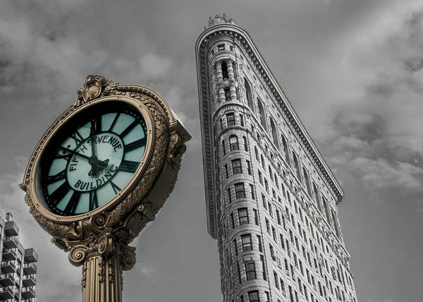 Photograph - Flatiron Building by Kyle Lee