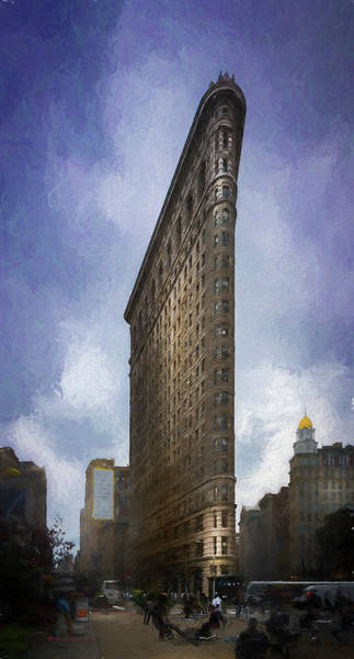 Wall Art - Photograph - Flatiron Building by Marvin Spates