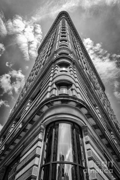 Photograph - Flatiron Building  Nyc Black And White by Alissa Beth Photography