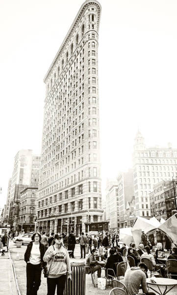 Wall Art - Photograph - Flatiron District - Nyc by Madeline Ellis