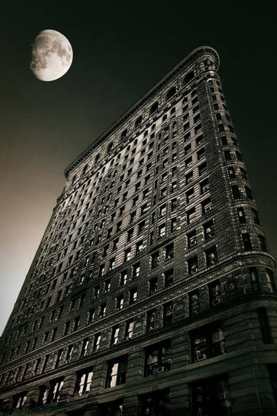 Flatirons Photograph - Flatiron Moonlight by Jessica Jenney