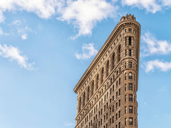 Photograph - Flatiron Profile by Framing Places