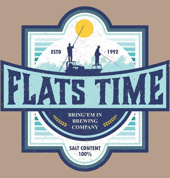 Belize Digital Art - Flats Time by Kevin Putman