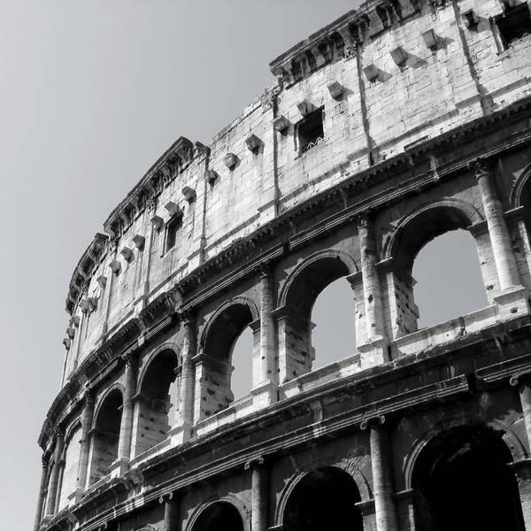 Photograph - Flavian Amphitheater by KJ Swan