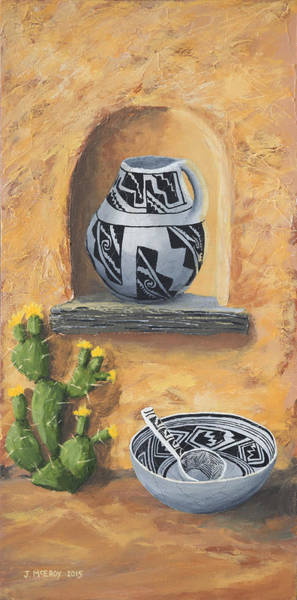Anasazi Painting - Flavor Of The Southwest Part 2 by Jerry McElroy