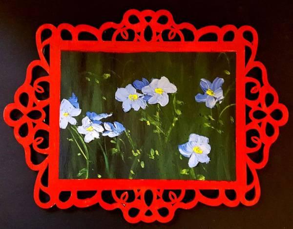 Painting - Flax In Montana     57 by Cheryl Nancy Ann Gordon