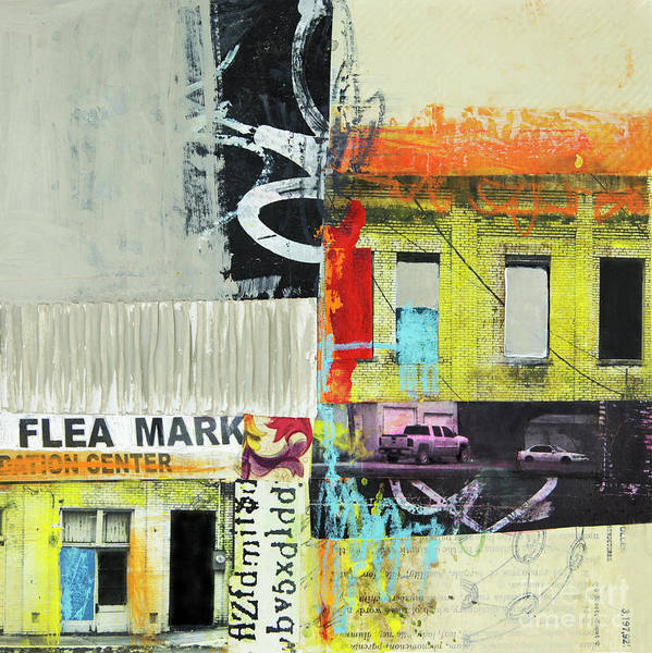 Wall Art - Mixed Media - Flea Mark by Elena Nosyreva