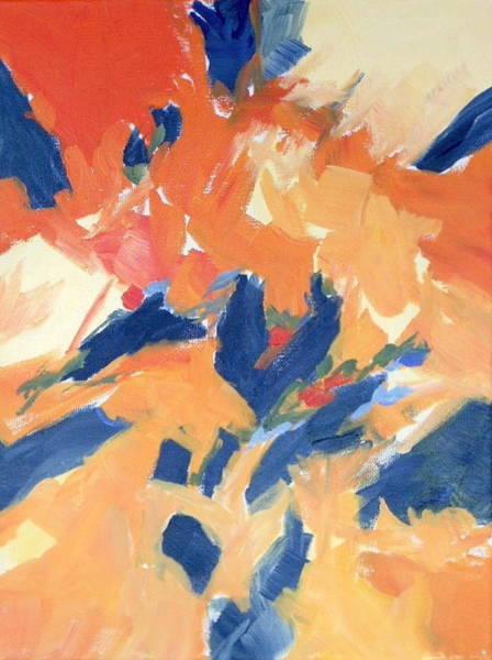 Fleeing Crows Art Print