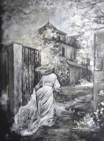 Painting - Fleeing The Wedding by Miki De Goodaboom
