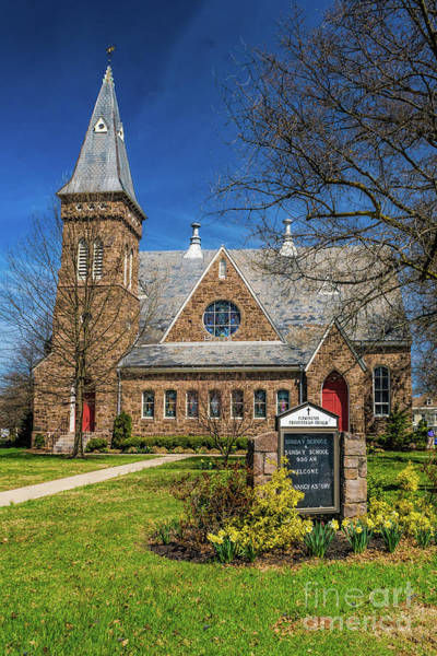 Photograph - Flemington Presbyterian  by Nick Zelinsky