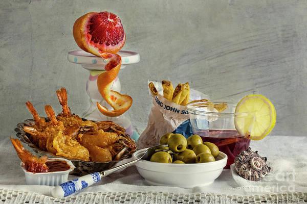 Photograph - Flemish Snack by Elena Nosyreva