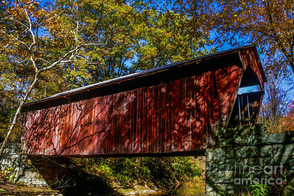 Photograph - Fletcher Covered Bridge by Thomas R Fletcher