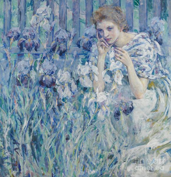 Wall Art - Painting - Fleur De Lys by Robert Reid