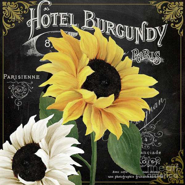 Perennial Painting - Fleur Du Jour Sunflowers by Mindy Sommers