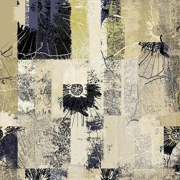 Wall Art - Digital Art - Fleurelle - 152w3b by Variance Collections