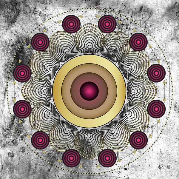 Digital Art - Fleuron Composition No. 229 by Alan Bennington