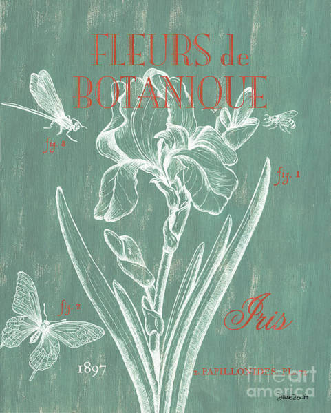 Pen And Ink Wall Art - Painting - Fleurs De Botanique by Debbie DeWitt