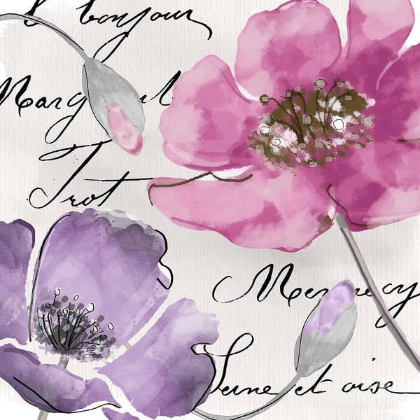 Fleur Painting - Fleurs De France IIi by Mindy Sommers